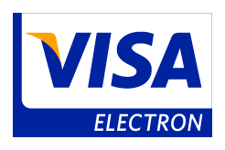Pay by card (Visa Electron)